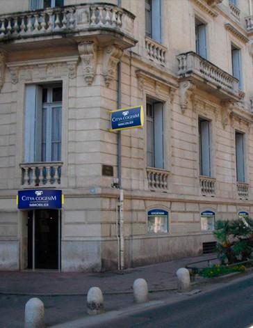 Réaménagement Cytia immobilier agence