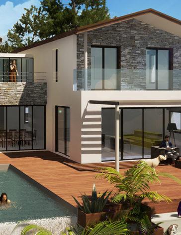 Architecte villas individuelles sète