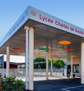 Lycee Charles de Gaulle ArchiZ Achitecture 11