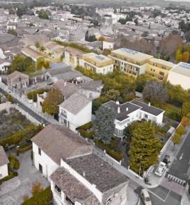 Vue aérienne la distillerie par Archiz, cabinet d'architecte