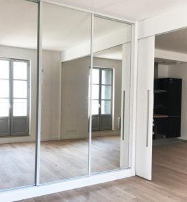 Aménagement intérieur d'un appartement, dépouillement de l'appel d'offre, suivi des travaux.